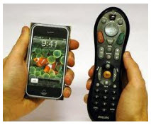 iphone as remote control