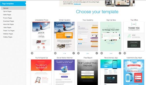 getresponse-templates